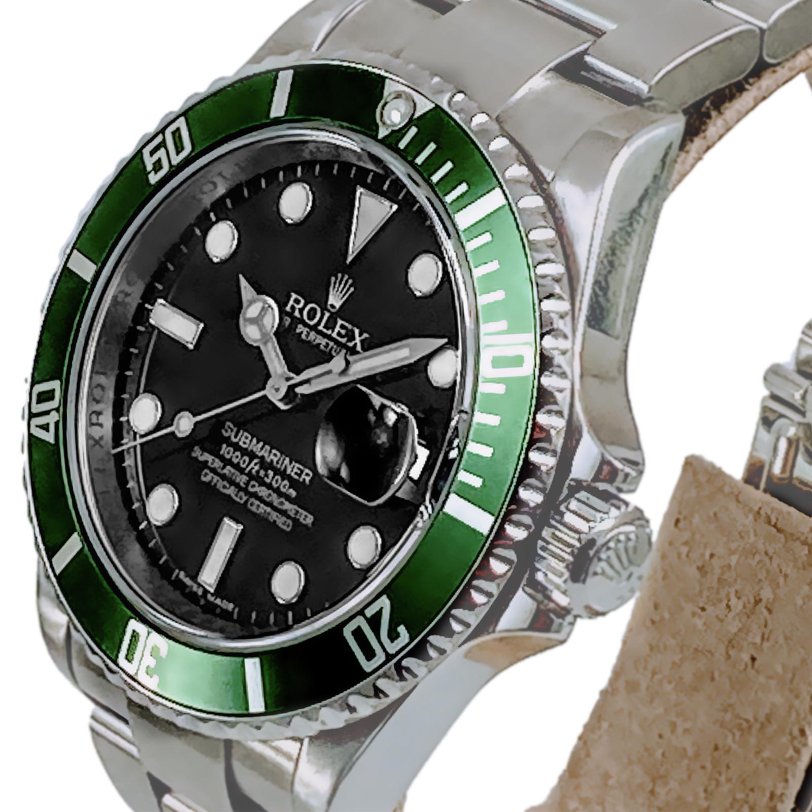 Rolex 16610LV Anniversary Submariner