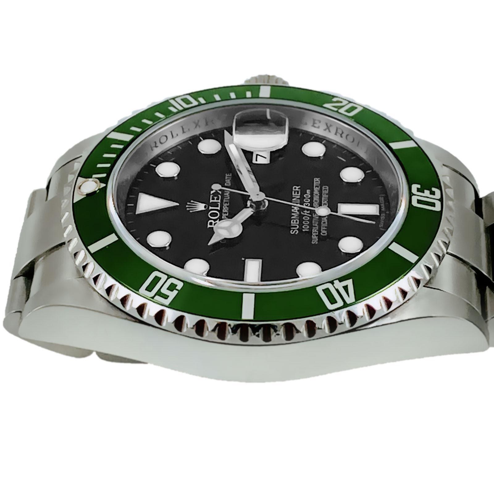 Authentic Rolex Submariner 16610LV