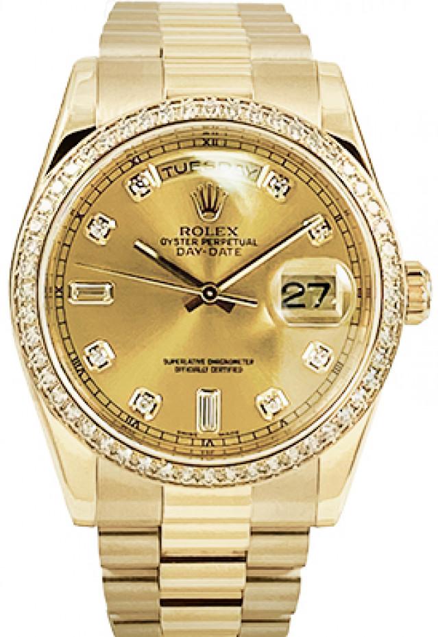 Rolex Day-Date 118348 President Original Diamonds