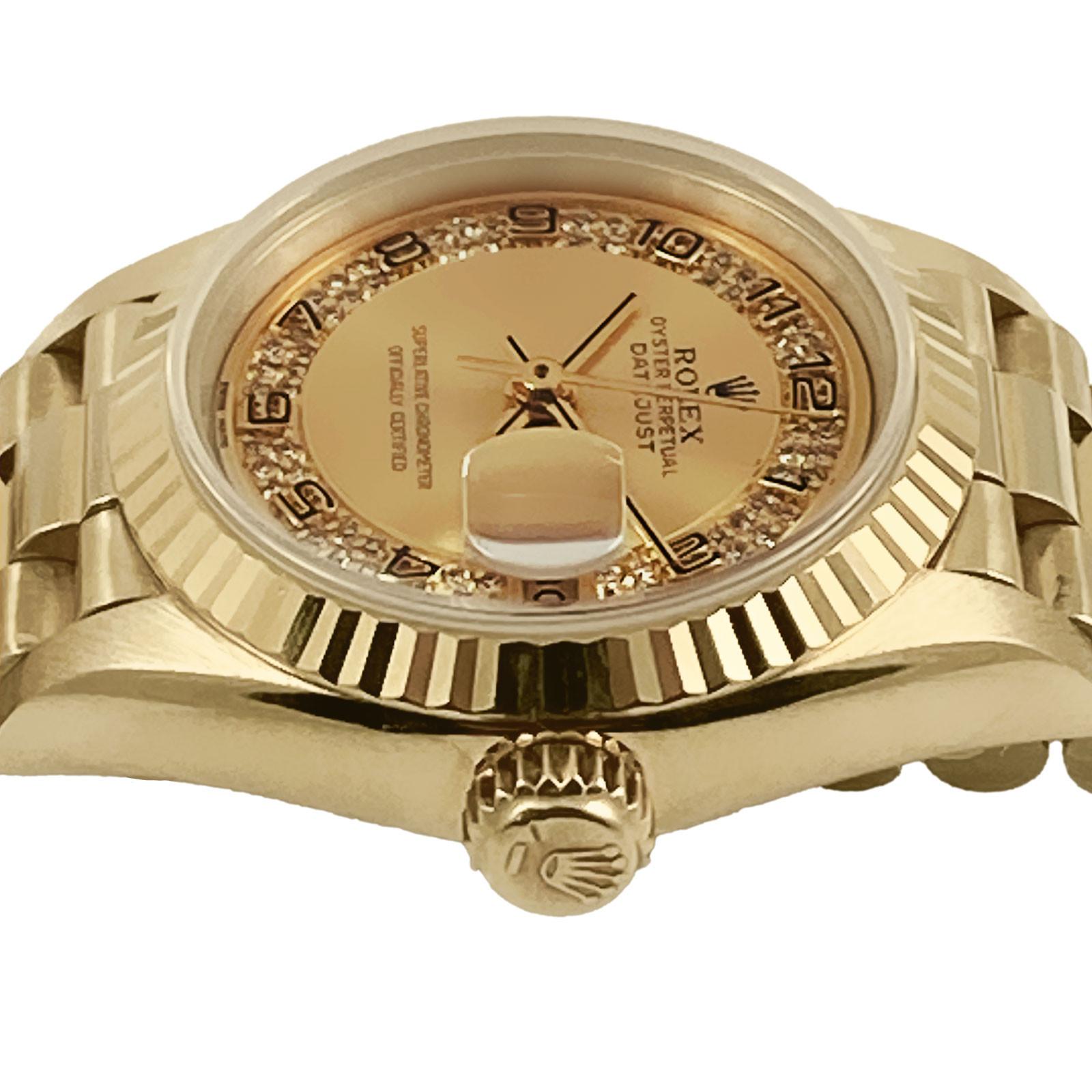Diamond Rolex Datejust Ref. 69178