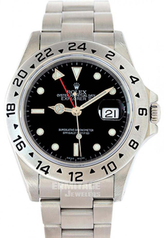Rolex Explorer II Ref. 16570 Black Dial