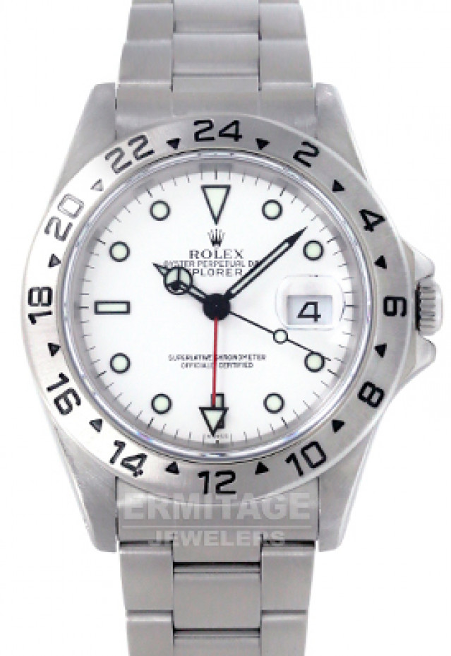 "Rolex Explorer II 16570 Polar  Single 'Swiss"""