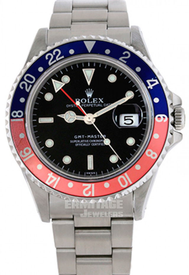 """Rolex GMT-Master II Ref. 16700 Mint Condition Single """"Swiss"""" Dial"""