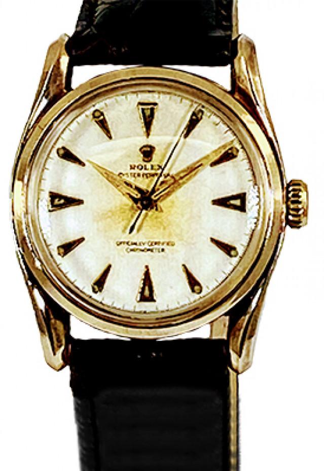 "Rolex Model 6018 Gold ""Bombay"" Bubbleback, circa 1950's"