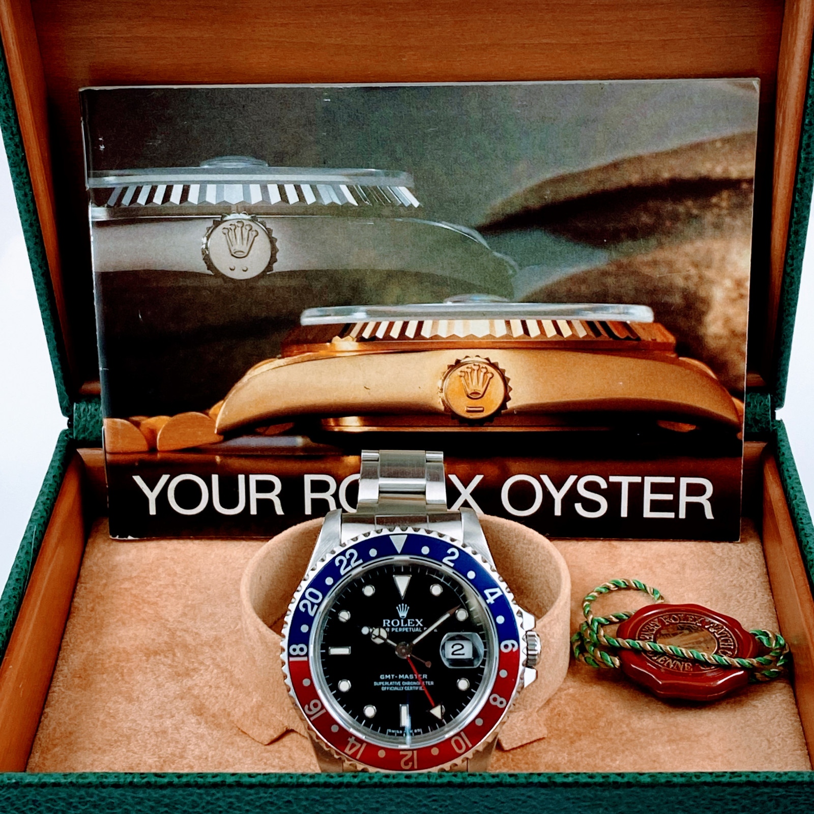 Rolex GMT-Master 16700 Transitional Model