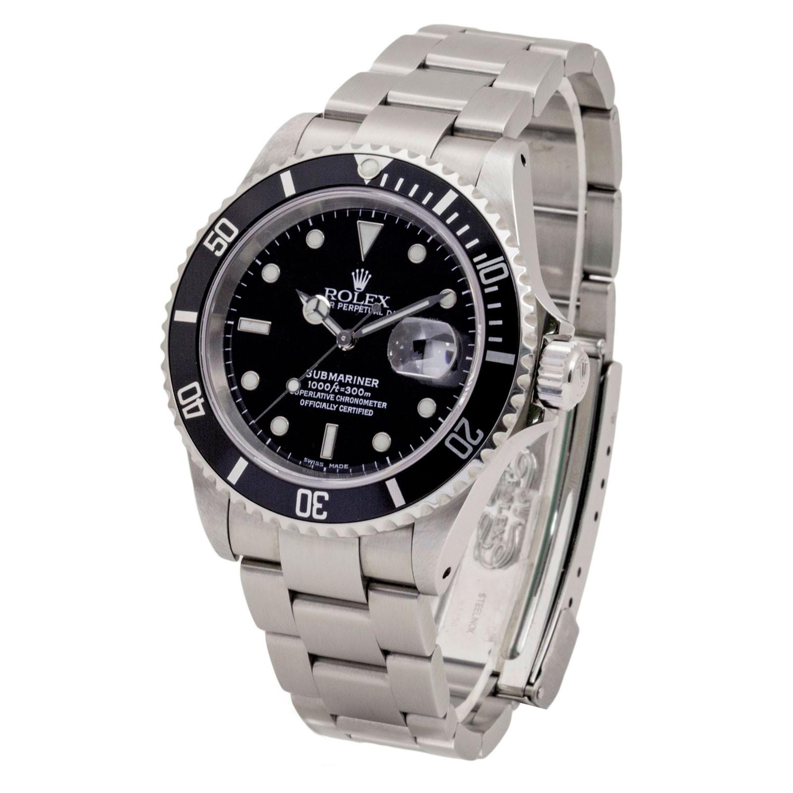 Rolex Submariner 16610  Mint Condition 2003