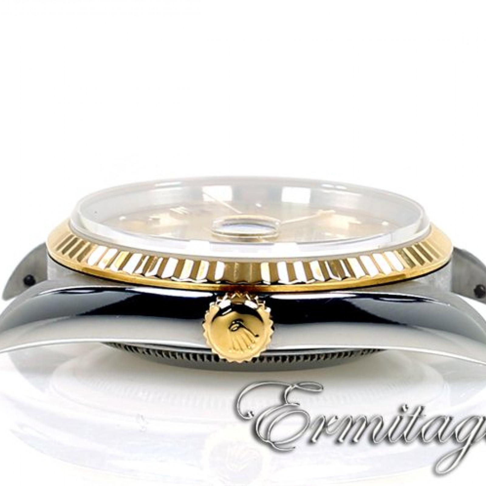 Rolex Datejust 16233 Gold & Steel Champagne
