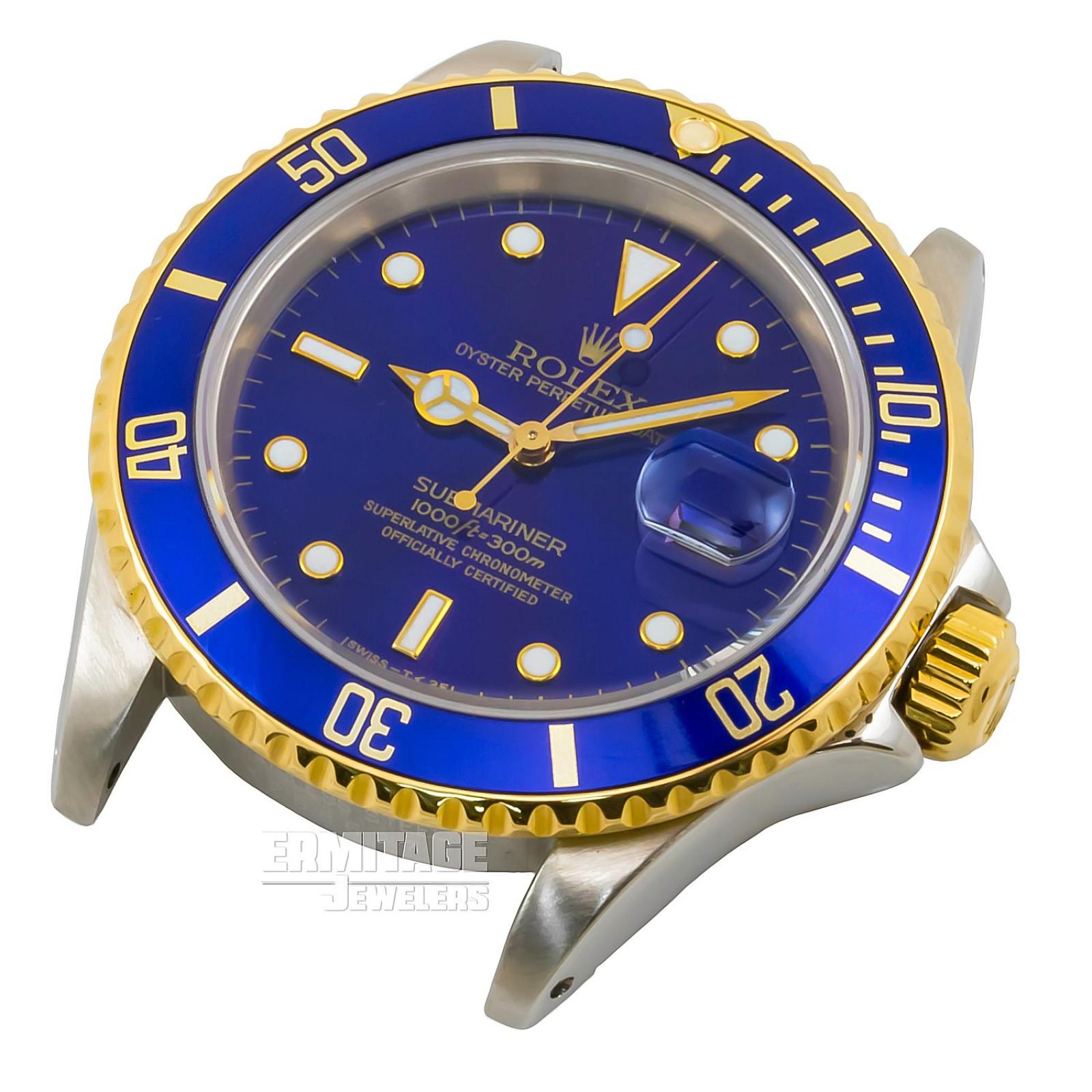 Rolex Submariner 16613 Blue Dial