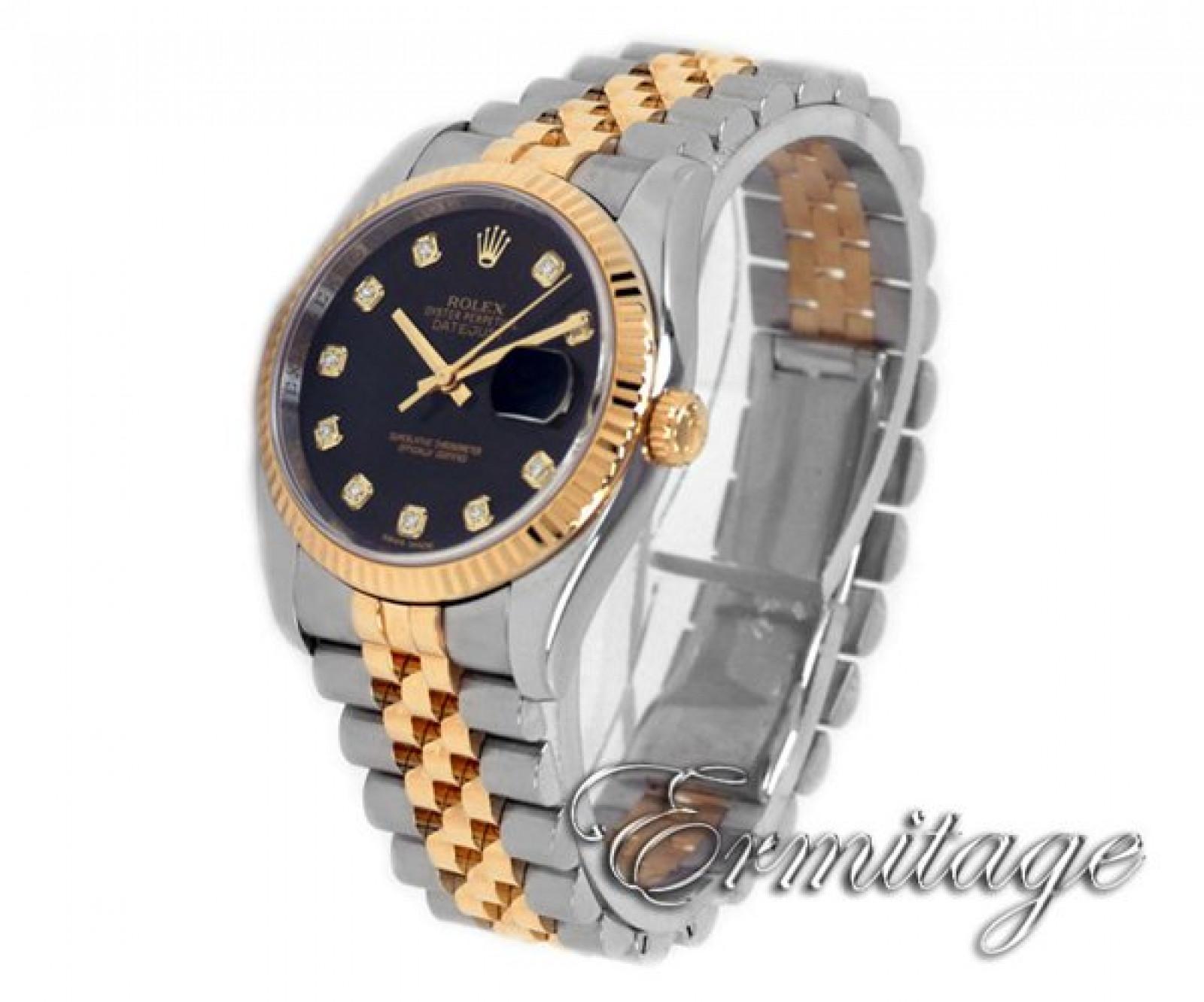 Diamond Dial Rolex Datejust with Diamonds Ref 116233