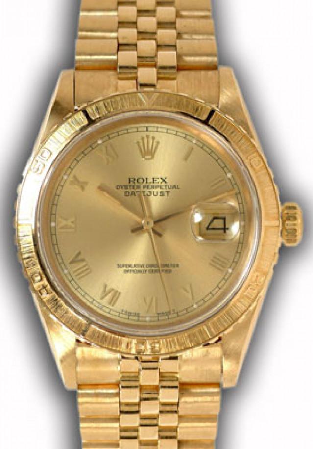 Rolex Datejust Turn-O-Graph 16258