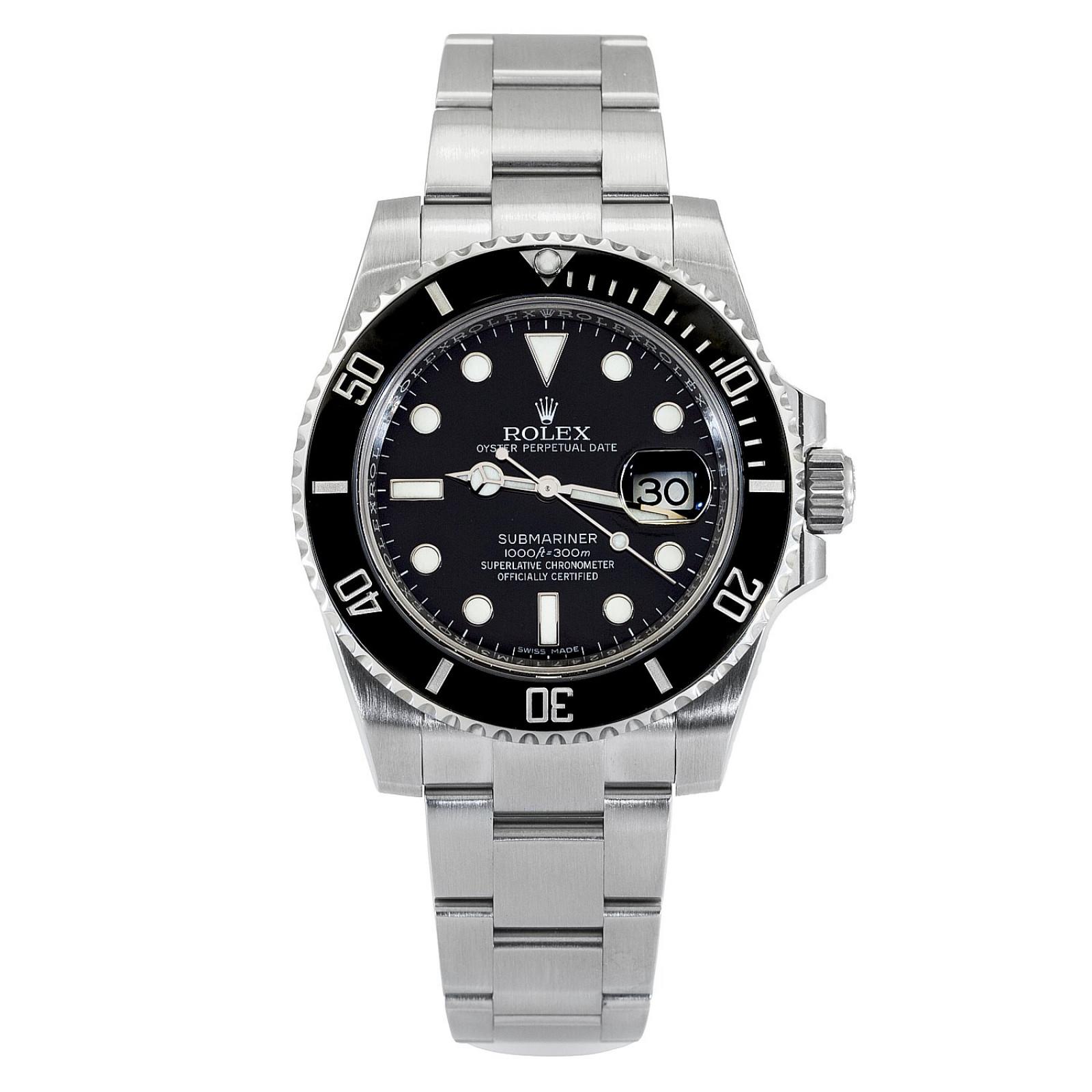 2019 Unworn Black Rolex Submariner 116610