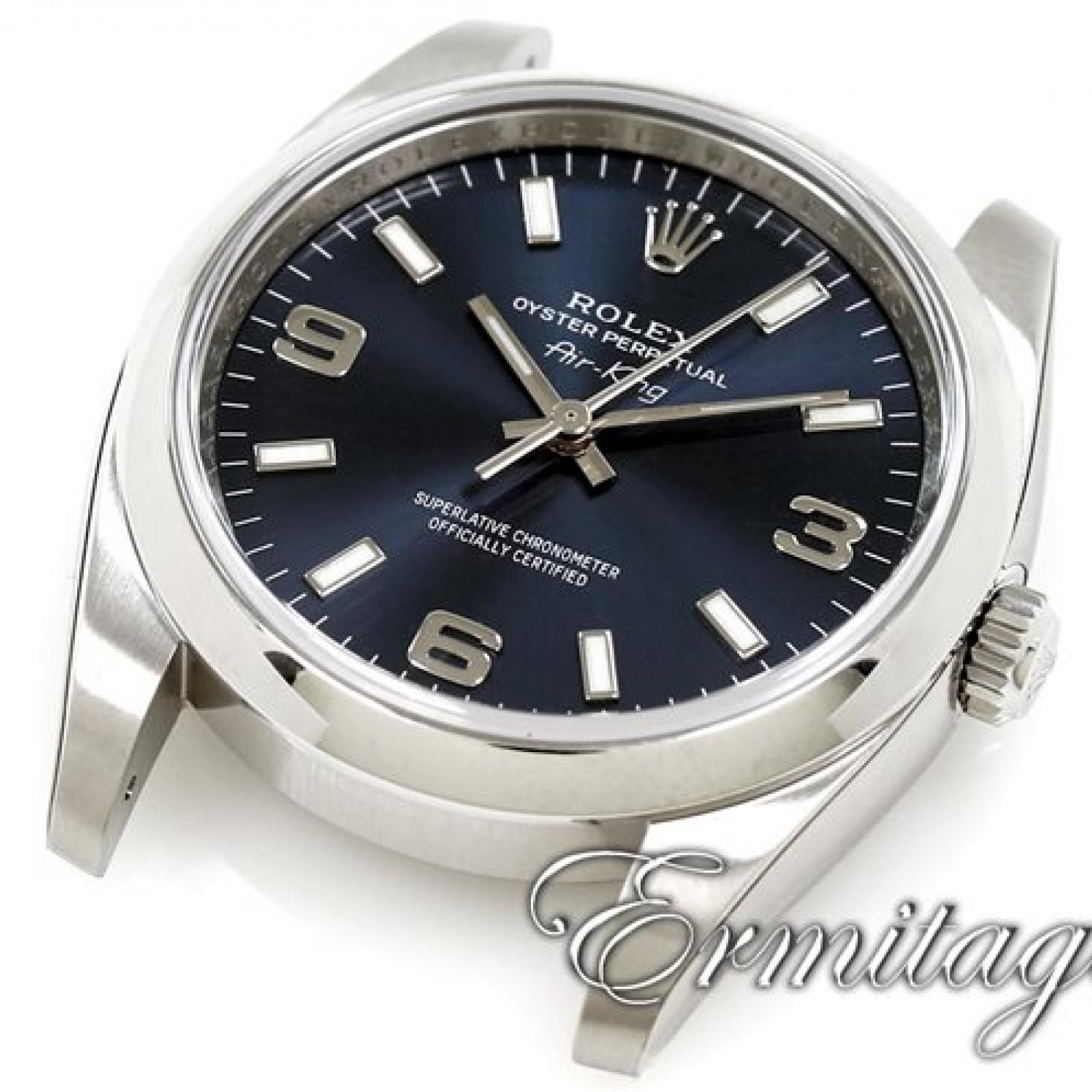 Rolex Air King 114200 Blue Dial