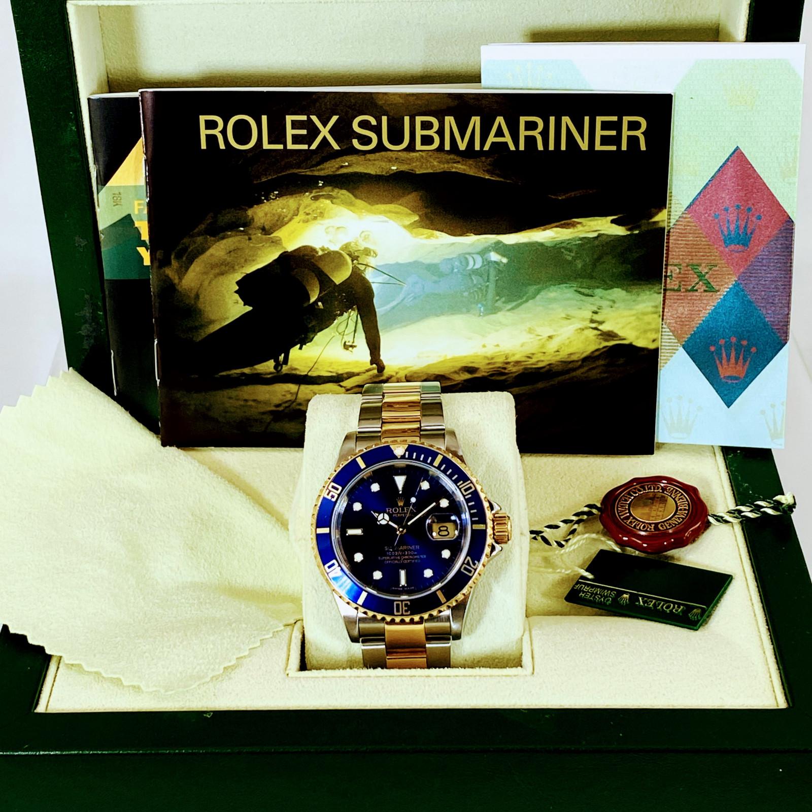 Rolex Submariner 16613  Full Set
