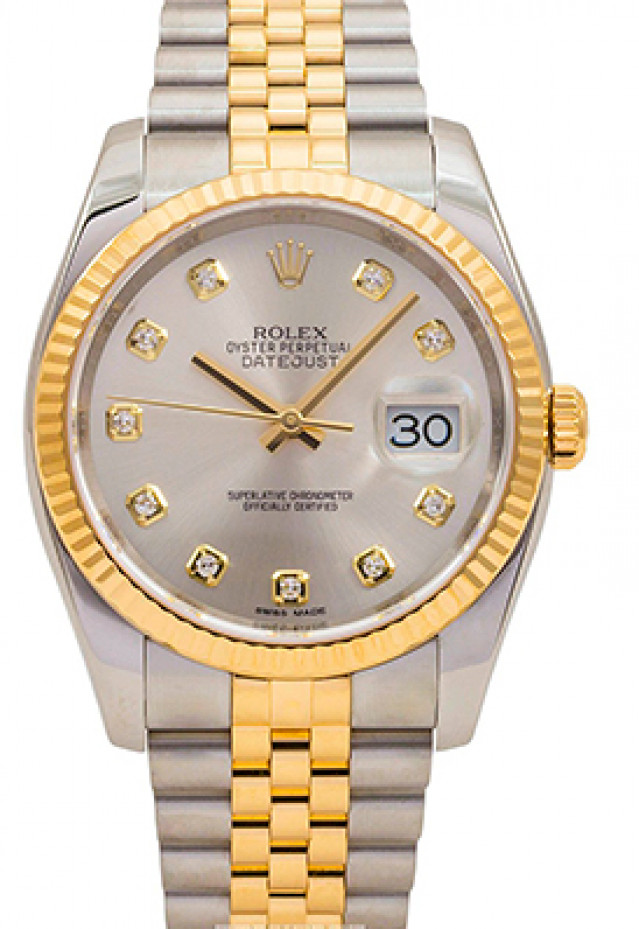 Rolex Datejust 116233  Silver Dial