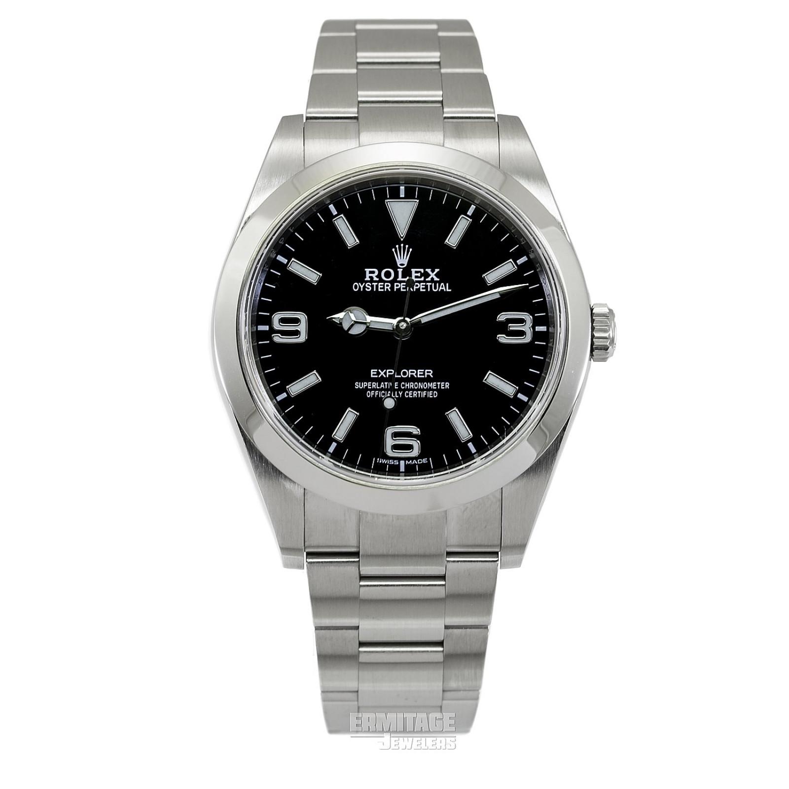 2020 Black Rolex Explorer Ref. 214270