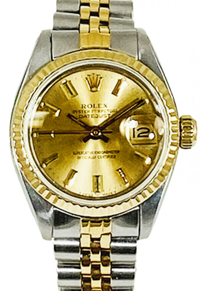 Rolex Datejust 6917 Gold & Steel