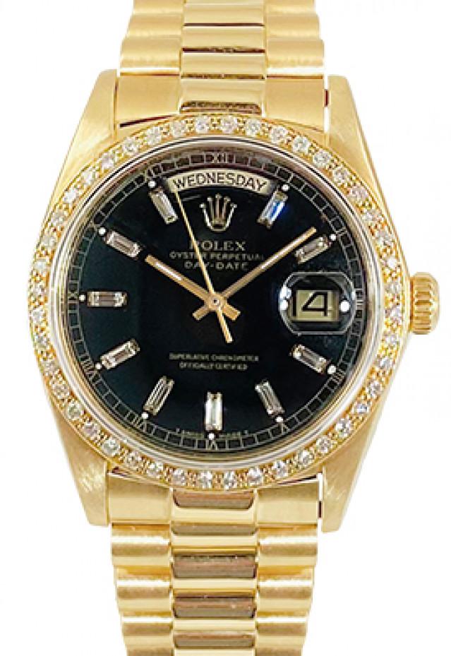 Rolex Day-Date 18038 Diamond Bezel & Dial