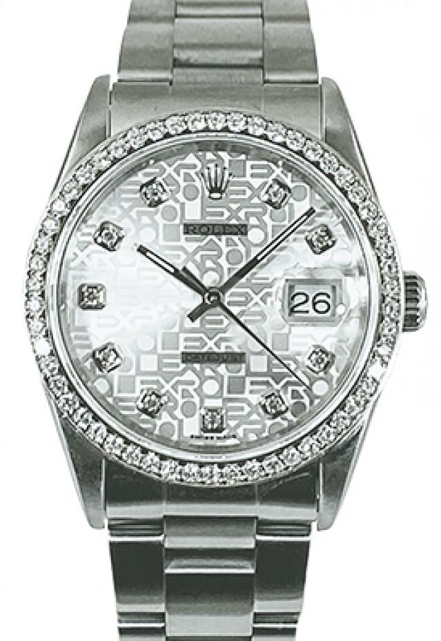 Diamond Rolex Datejust Model 16234