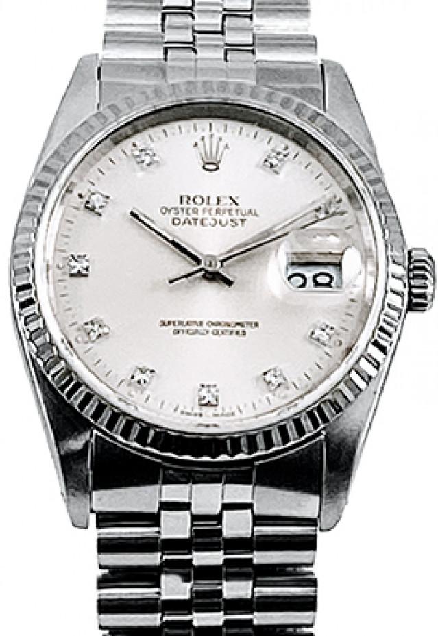 Rolex Datejust 16234 Factory Diamond Dial