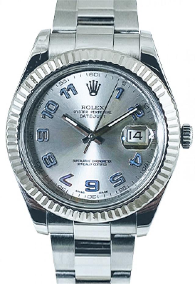 Rolex Datejust 41 116334 Steel & White Gold