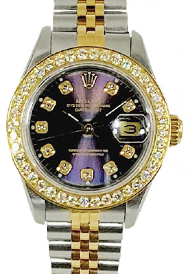 Diamond Rolex Datejust 69173