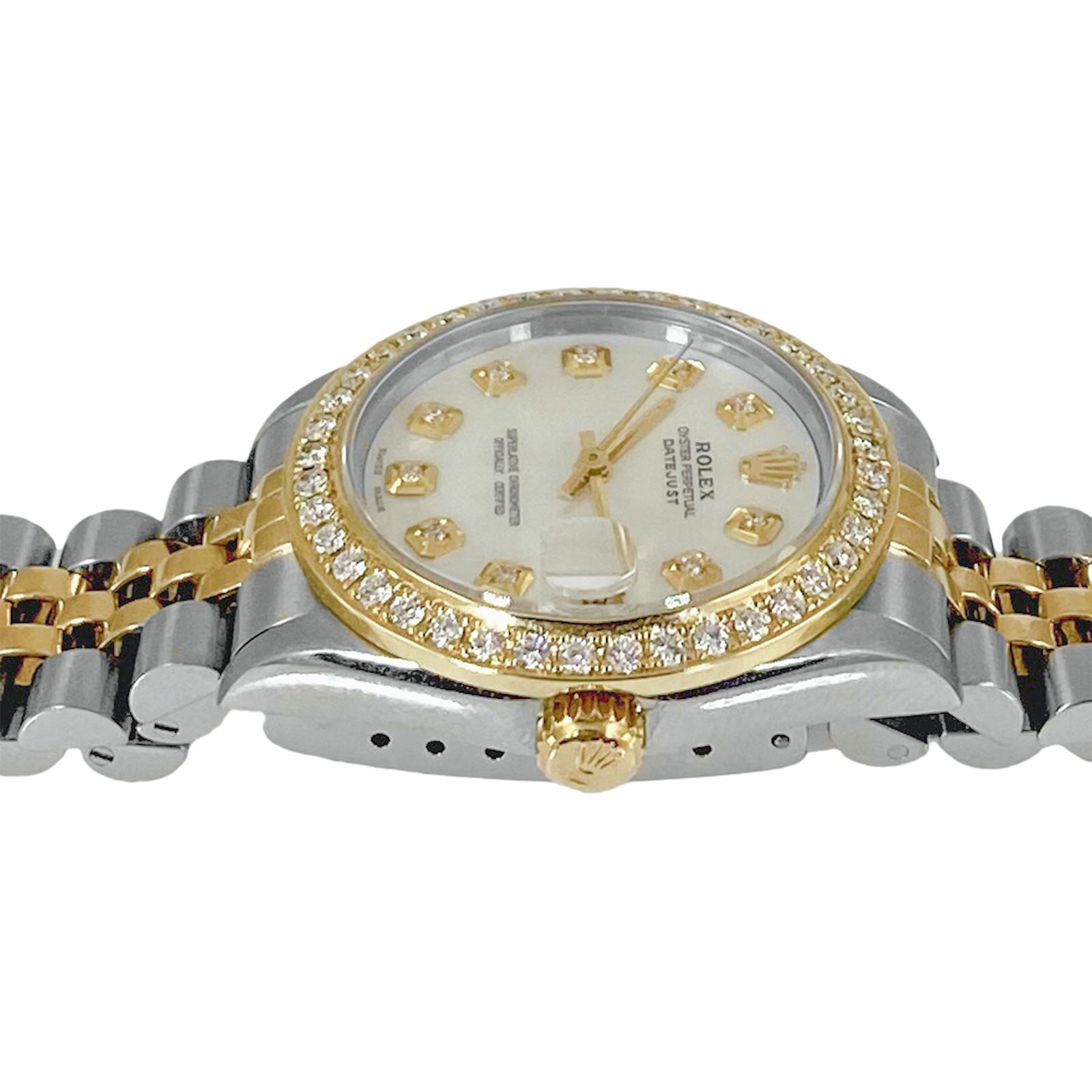 Rolex Mid-Size Ladies Diamond Watch 68273
