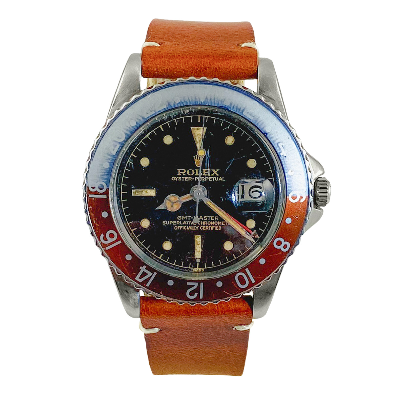 Rolex GMT-Master Ref. 1675 Exclamation Dial 1960 With Certificate