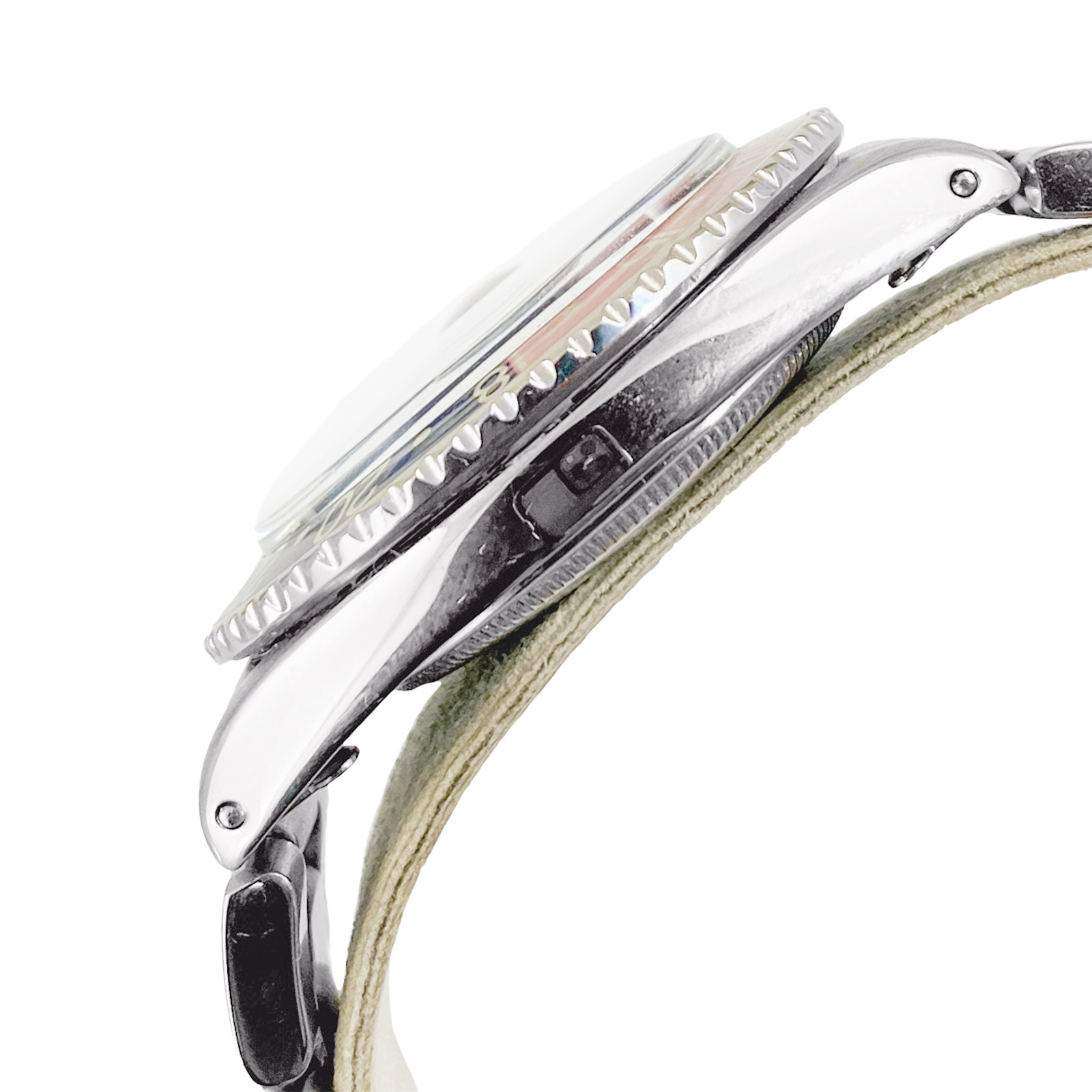 Rare Rolex GMT-Master Ref. 1675 Underline Double Swiss Dial 1963
