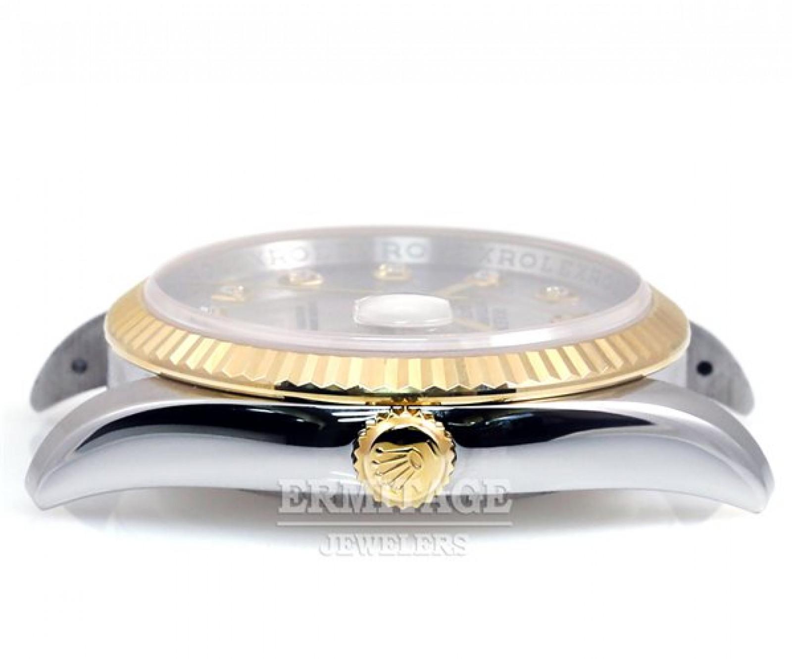 Silver Diamond Dial Rolex Datejust 116233