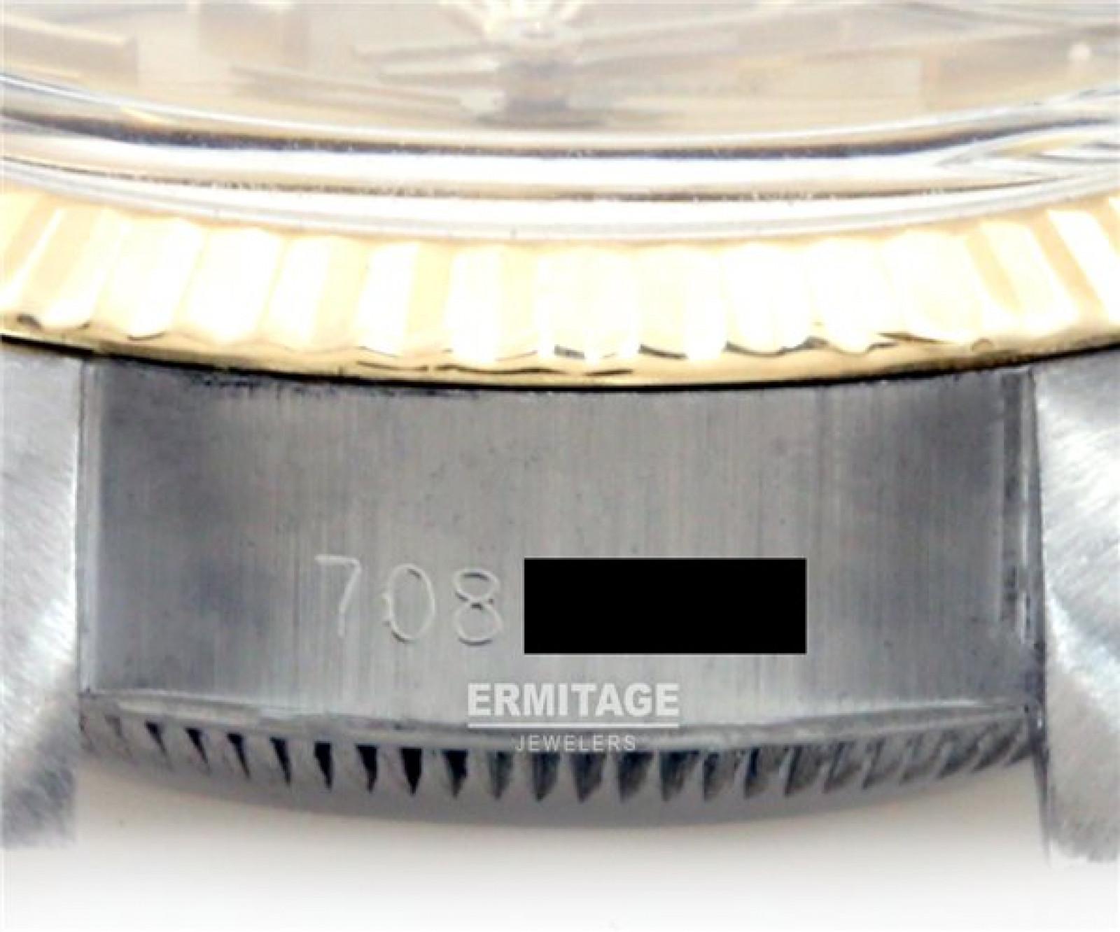 Vintage Rolex Datejust 6917 Gold & Steel Year 1981