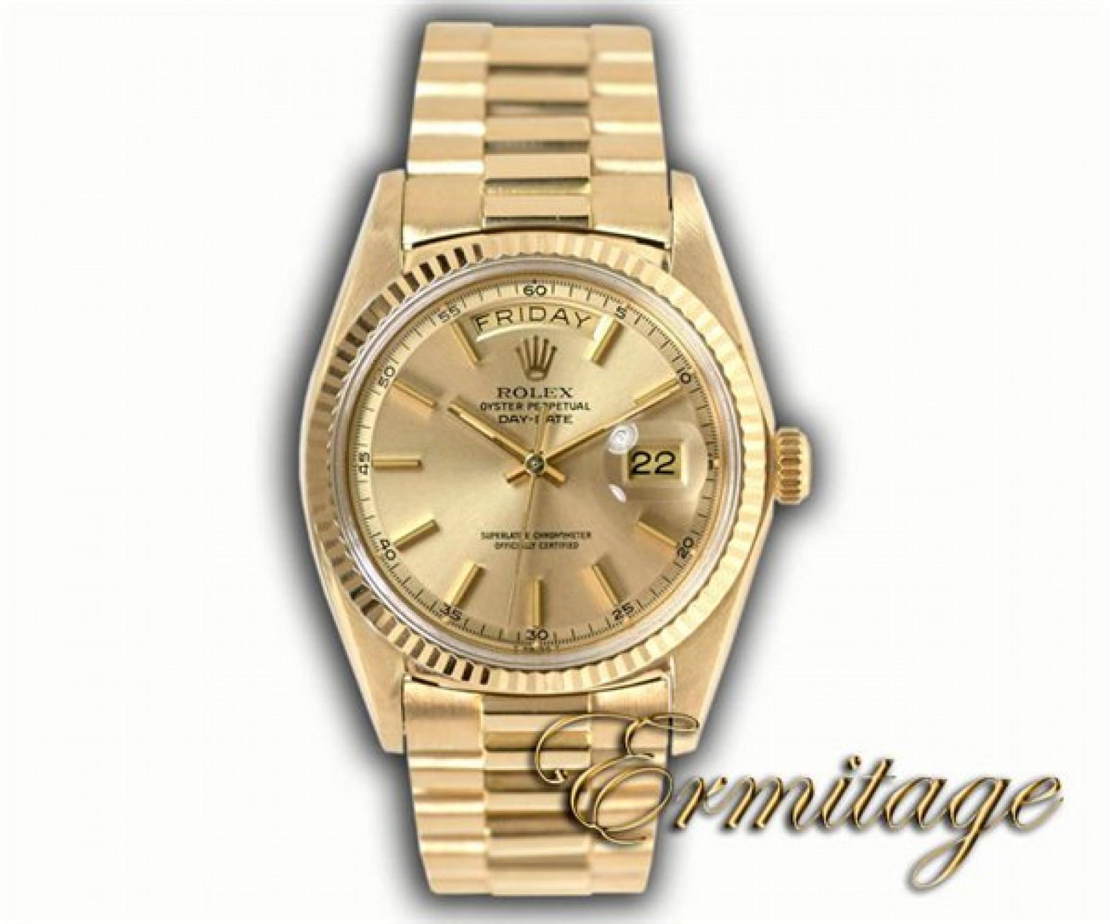 Vintage Rolex Day-Date 1803 Gold Year 1972 1972