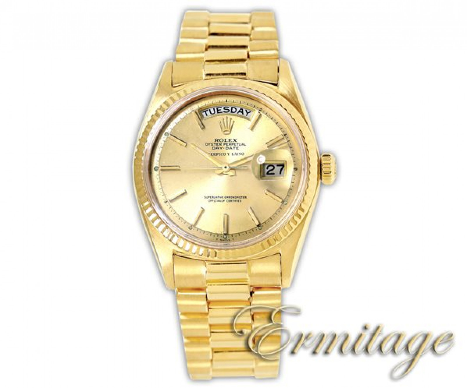 Vintage Rolex Day-Date 1803 Gold Year 1965 1965