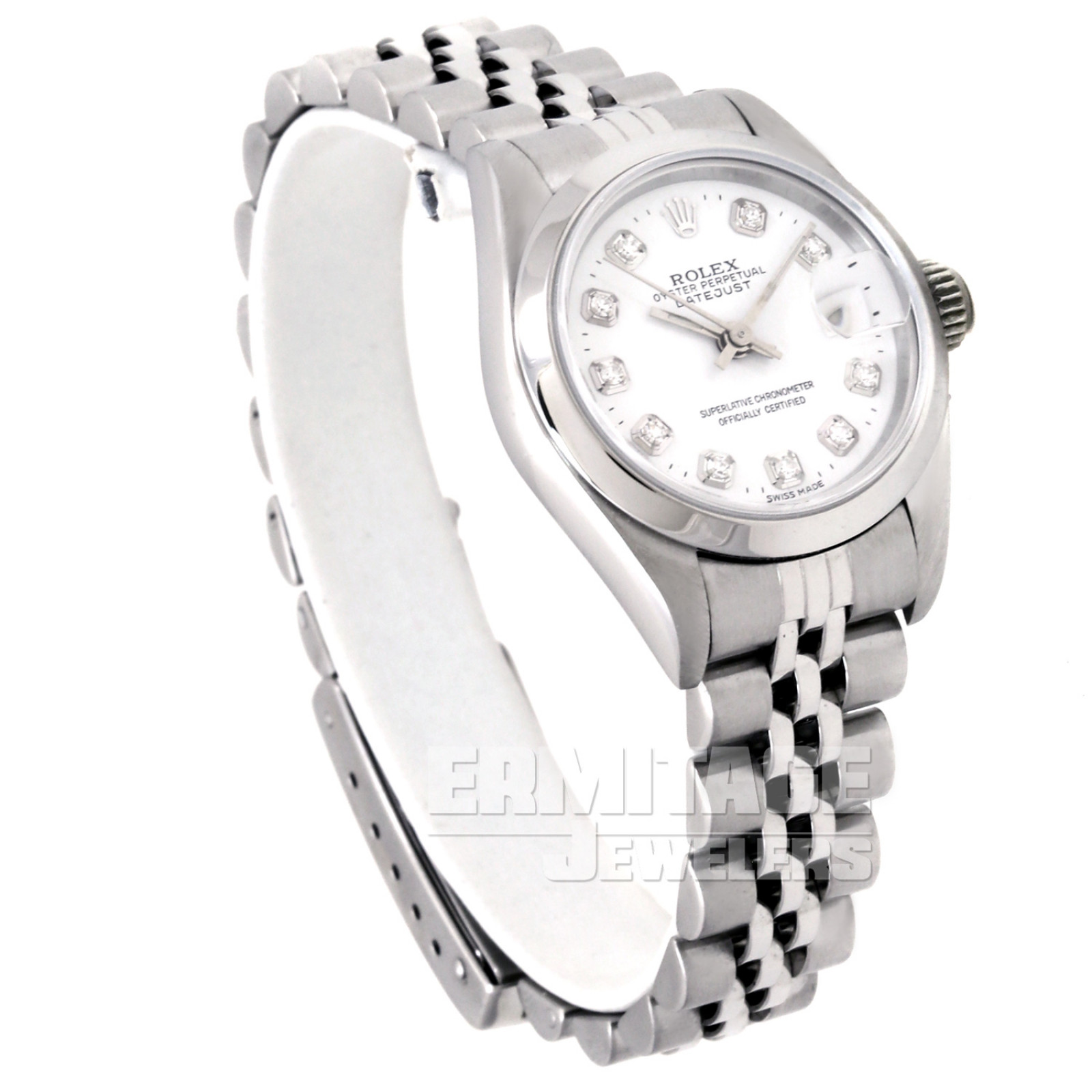 Rolex Datejust 69190 with White Dial