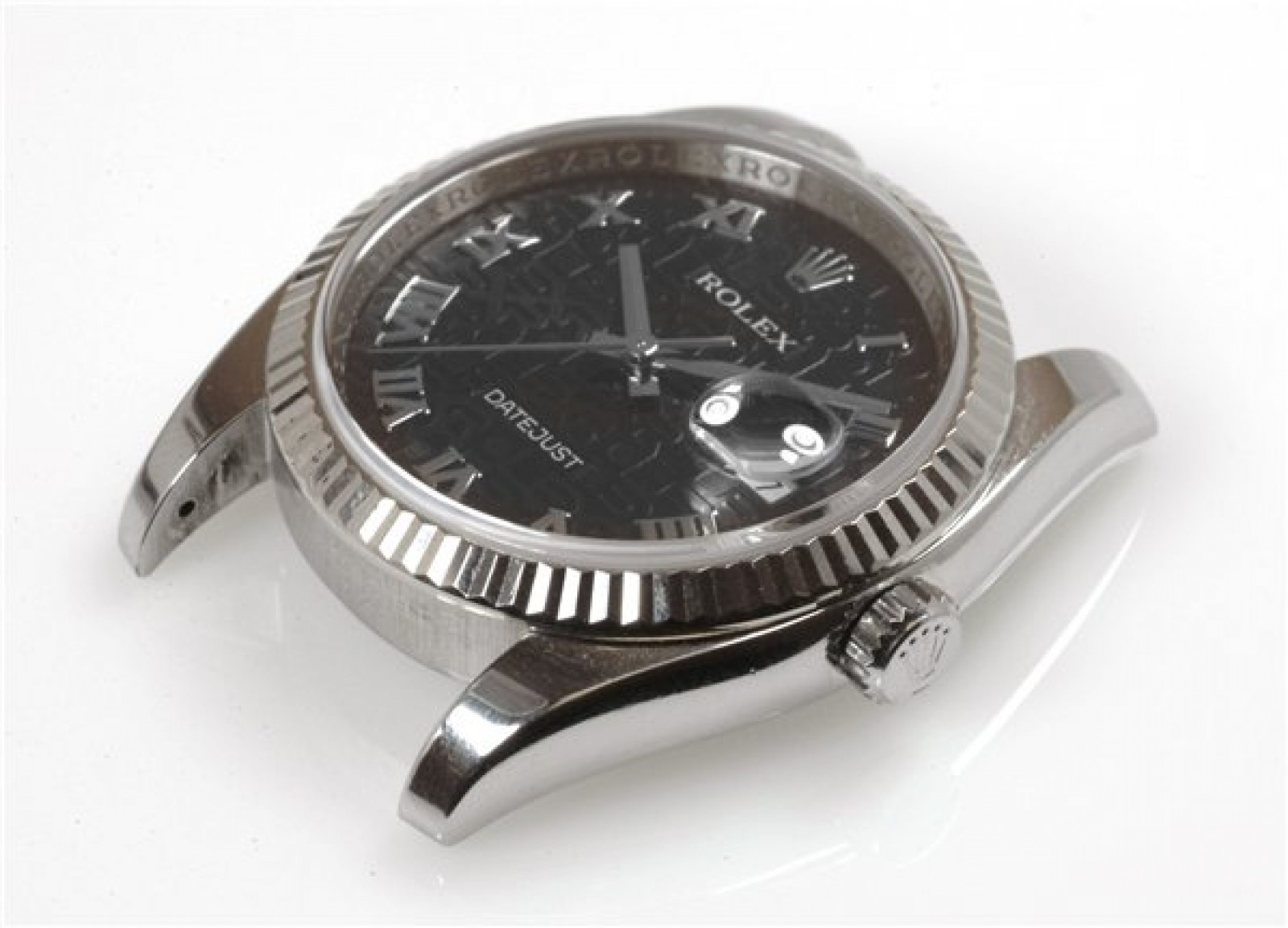 Rolex Datejust 116234 Steel with Black Dial