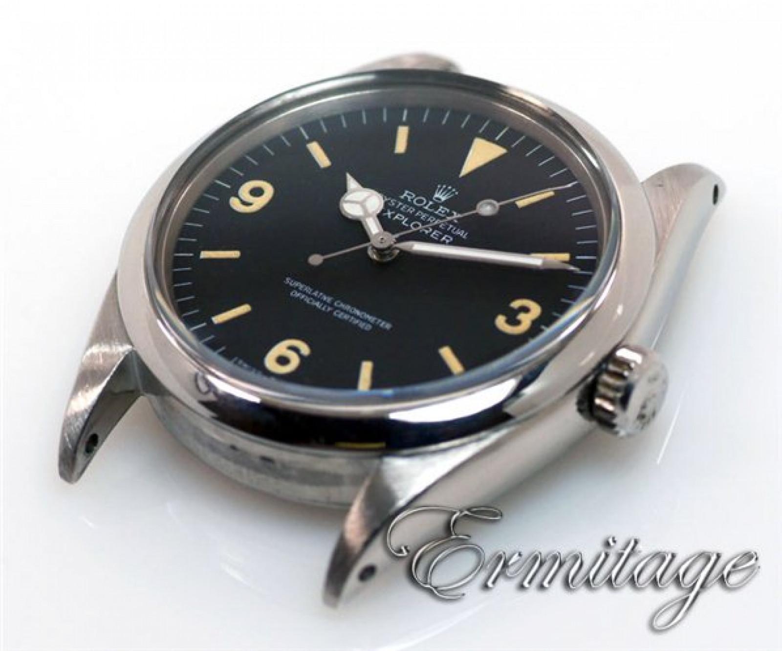 Vintage Rolex Explorer 1016 Steel with Blue Dial