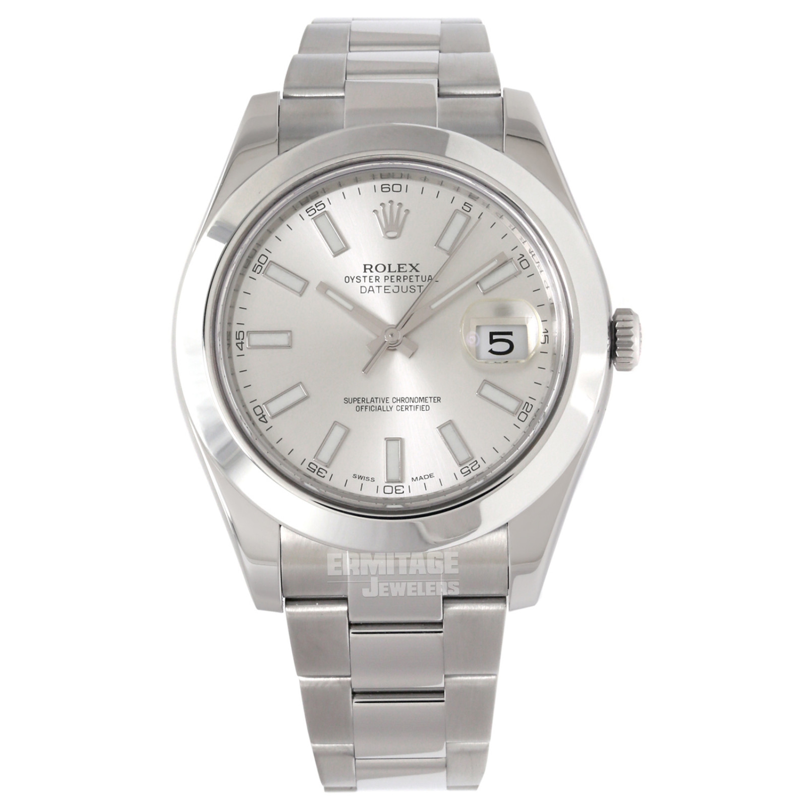 Rolex Datejust 116300 with Steel Dial