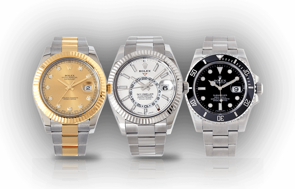 Pre-Owned Certified Authentic Watches